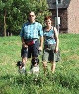 Theo en Elize Fenna en Bente vakantie Ernst 2007 klein